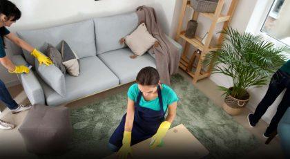 تنظيف منازل في حي التعاون