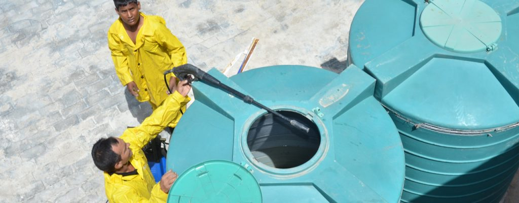 تنظيف خزانات المياه بالشارقة